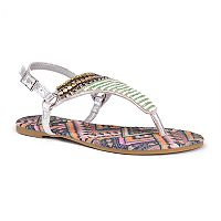 MUK LUKS Sheena Women's Sling-Back Sandals