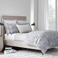 Modern Living Woven Stripe Coverlet