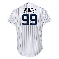 Boys 8-20 New York Yankees Aaron Judge Replica Jersey