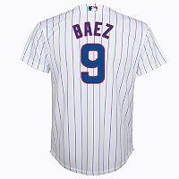 Boys 8-20 Chicago Cubs Javier Baez Replica Jersey