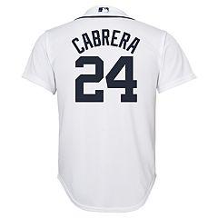 Boys 8-20 Detroit Tigers Miguel Cabrera Replica Jersey