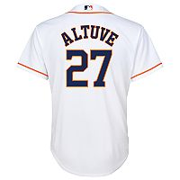 Boys 8-20 Houston Astros Jose Altuve Replica Jersey