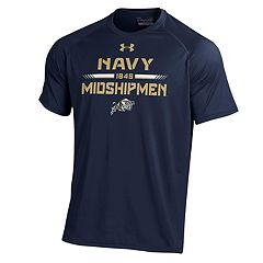 Men's Under Armour Navy Midshipmen Tech Tee