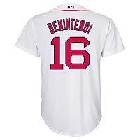 Boys 8-20 Boston Red Sox Andrew Benintendi Replica Jersey