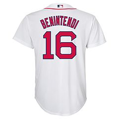 Boys 8-20 Boston Red Sox Andrew Benintendi Replica Jersey