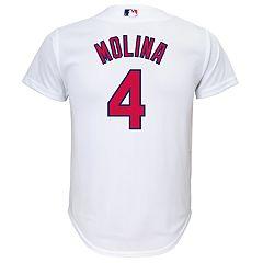 Boys 8-20 St. Louis Cardinals Yadier Molina Replica Jersey
