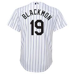 Boys 8-20 Colorado Rockies Charlie Blackmon Replica Jersey