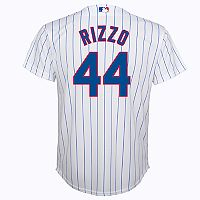 Boys 8-20 Chicago Cubs Anthony Rizzo Replica Jersey