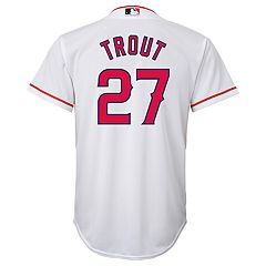 Boys 8-20 Los Angeles Angels of Anaheim Mike Trout Replica Jersey