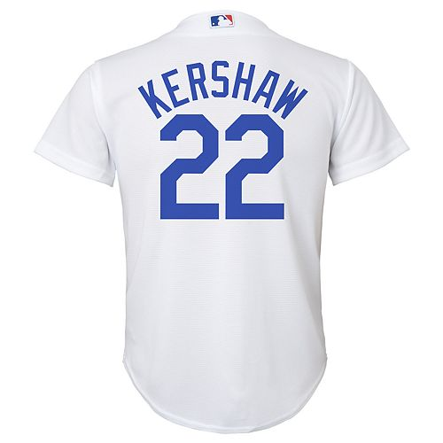 new styles d10c8 e89c8 Boys 8-20 Los Angeles Dodgers Clayton Kershaw Replica Jersey