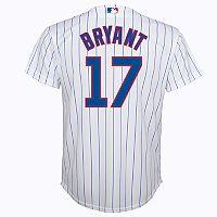 Boys 8-20 Chicago Cubs Kris Bryant Replica Jersey
