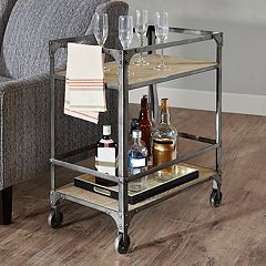 Madison Park Brewer Bar Cart