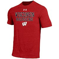 Men's Under Armour Wisconsin Badgers Heathered Tee