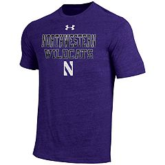 Men's Under Armour Northwestern Wildcats Heathered Tee