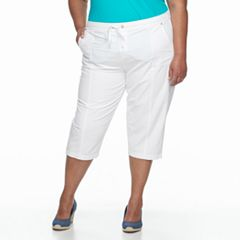 Plus Size Croft & Barrow® Capris