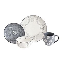 Baum Phara Grey 16-pc. Dinnerware Set