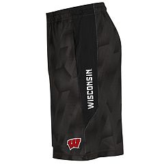 Men's Under Armour Wisconsin Badgers Novelty Raid Shorts