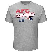 Men's New England Patriots 2017 AFC Champions Wonderstruck Tee