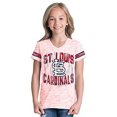 Girls 6-16 St. Louis Cardinals Space Dye Jersey Tee