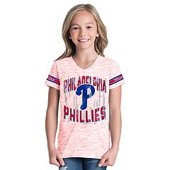Girls 6-16 Philadelphia Phillies Space Dye Jersey Tee