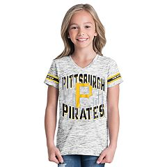 Girls 6-16 Pittsburgh Pirates Space Dye Jersey Tee