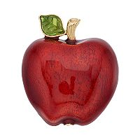 Napier Red Apple Pin