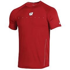Men's Under Armour Wisconsin Badgers Sideline Training Tee