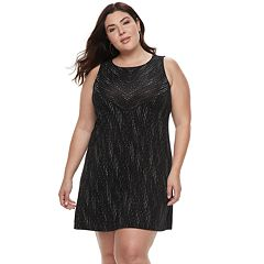 Plus Size Apt. 9® A-Line Tank Dress