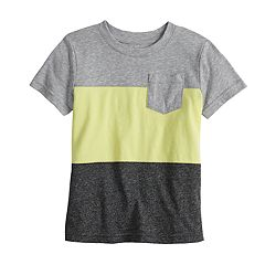 Toddler Boy Jumping Beans® Colorblock Pocket Tee