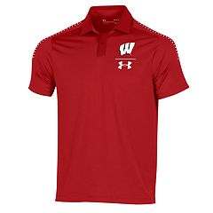 Men's Under Armour Wisconsin Badgers Sideline Polo