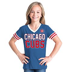 Girls 6-16 Chicago Cubs Team Tee