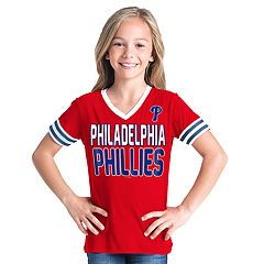Girls 6-16 Philadelphia Phillies Team Tee