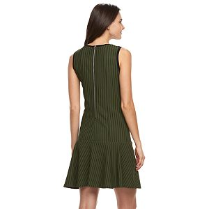 Women's Nina Leonard Mitered Sheath Dress