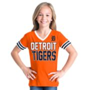 Girls 6-16 Detroit Tigers Team Tee