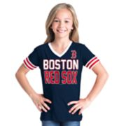 Girls 6-16 Boston Red Sox Team Tee