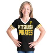 Girls 6-16 Pittsburgh Pirates Team Tee