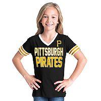 Girls 6-16 Pittsburgh Pirates Team Tee