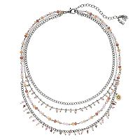 Simply Vera Vera Wang Beaded Multi Strand Necklace