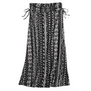 Girls 7-16 Joey B Side Tie Fold Over Maxi Skirt