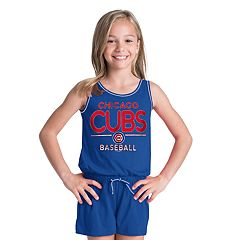 Girls 6-16 Chicago Cubs Romper