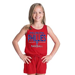 Girls 6-16 Philadelphia Phillies Romper