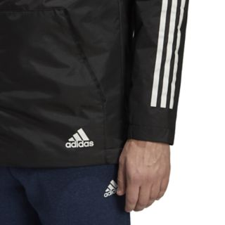 Men's adidas Outdoor Xploric 3-Stripe Slim-Fit Hooded Jacket