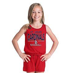 Girls 6-16 St. Louis Cardinals Romper