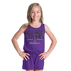 Girls 6-16 Colorado Rockies Romper