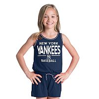 Girls 6-16 New York Yankees Romper