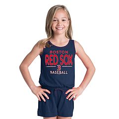 Girls 6-16 Boston Red Sox Romper