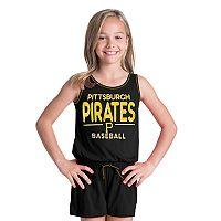 Girls 6-16 Pittsburgh Pirates Romper