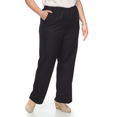 50f5af984d2 Plus Size Alfred Dunner Studio Pull-On Pants