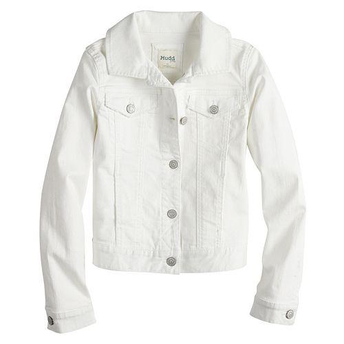 Girls 7-16 Mudd® Denim Jacket