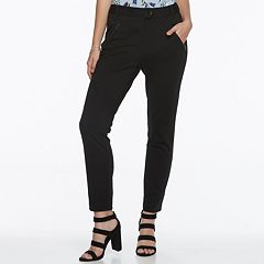 Juniors' Candie's® Zip-Pocket Ankle Pants